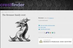 Bremner Family Crest