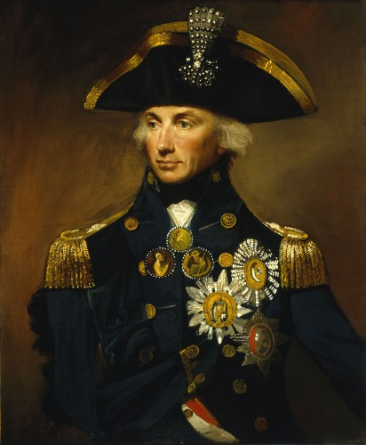 Rear-Admiral Horatio Nelson, 1st Viscount Nelson (1758-1805)