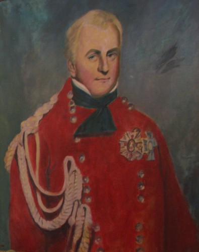 General Frederick Adam wearing his KCMG and KCB