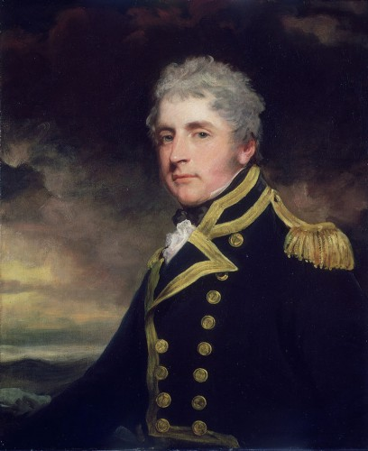 Sir Henry Blackwood (1770–1832), by John Hoppner, 1806