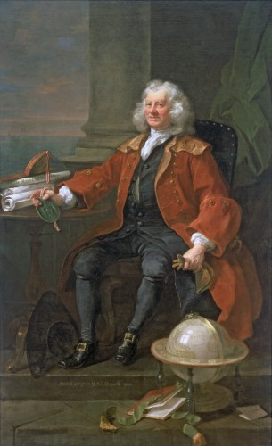 Portrait of Captain Coram (c.1668-1751) 1740, Hogarth, William (1697-1764) / © Coram in the care of the Foundling Museum, London / Bridgeman Images