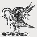 Gardiner family crest, coat of arms