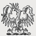Lally family crest, coat of arms