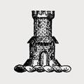 Van Voorhees family crest, coat of arms