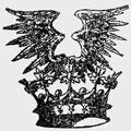 Van Alst family crest, coat of arms