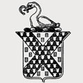 Champernon family crest, coat of arms