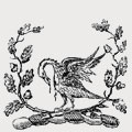 Daniell family crest, coat of arms