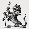 Oak family crest, coat of arms