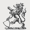 Paget family crest, coat of arms