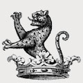 Arnewood family crest, coat of arms