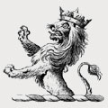 King family crest, coat of arms