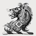 Dandridge family crest, coat of arms