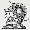 Dance family crest, coat of arms