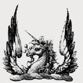 Bonner family crest, coat of arms
