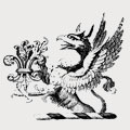 Quash family crest, coat of arms