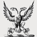 Waldo family crest, coat of arms
