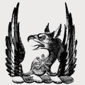 Lampson family crest, coat of arms