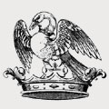 Audley family crest, coat of arms