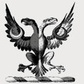 Austin family crest, coat of arms