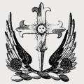 Valence family crest, coat of arms