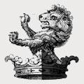 Alden family crest, coat of arms