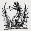 Dalton family crest, coat of arms