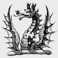 Wade family crest, coat of arms