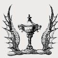 Inman family crest, coat of arms