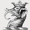Lander family crest, coat of arms