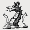 Oaksey family crest, coat of arms