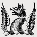 Inkersall family crest, coat of arms