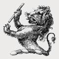 Aldis family crest, coat of arms
