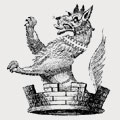 Wall family crest, coat of arms