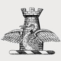 Ashmead-Bartlett family crest, coat of arms