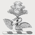Attwood family crest, coat of arms