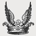 Van Straubenzee family crest, coat of arms