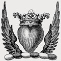 Alchorn family crest, coat of arms