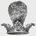 Iliff family crest, coat of arms