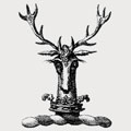 Auncell family crest, coat of arms