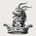 Yate family crest, coat of arms