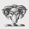 Lambton family crest, coat of arms
