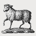 Lamb family crest, coat of arms