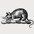 Alderford family crest, coat of arms