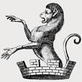 Dann family crest, coat of arms