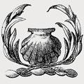 Aunsham family crest, coat of arms