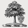 Waller family crest, coat of arms