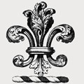 Absolon family crest, coat of arms