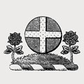 Amory family crest, coat of arms