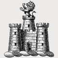 Anstavill family crest, coat of arms