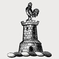 Walsh family crest, coat of arms